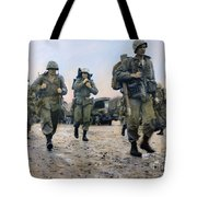 Korean War: Marines, 1953 Tote Bag
