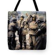 Korean War: Prisoners Tote Bag