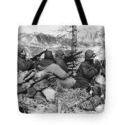 Korean War: Soldiers Tote Bag