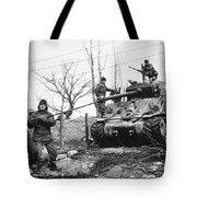 Korean War: Tank, 1951 Tote Bag