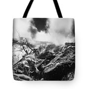 Korean War: Trenches, 1952 Tote Bag