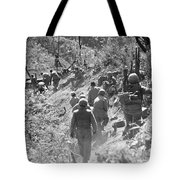 Korean War: Triangle Hill Tote Bag