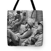 Korean War: U.n. Troops Tote Bag