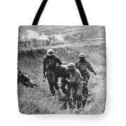 Korean War: Wounded, 1950 Tote Bag