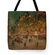 Korovin, Konstantin 1861-1939 Les Grands Boulevards, Paris Tote Bag
