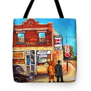 Kosher Bakery On Hutchison Tote Bag