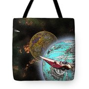 10114 Starfighters Tote Bag