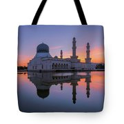 Kota Kinabalu City Mosque I Tote Bag