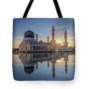 Kota Kinabalu City Mosque II Tote Bag