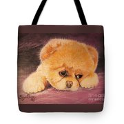 Flying Lamb Productions     Koty The Puppy Tote Bag