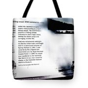 Mv Krait Historical Information Tote Bag