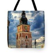 Krakow Town Hall Tote Bag