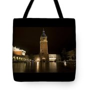 Krakow Town Hall Tower Tote Bag