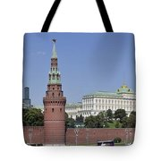 Kremlin Wall Panorama Tote Bag