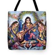 krishna - Kirtan  Tote Bag