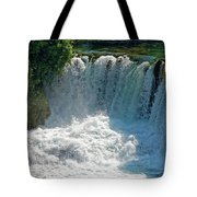 Krka National Park Waterfalls Tote Bag