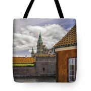 Kronborg Castle From The Moat House Tote Bag