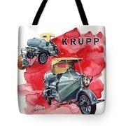 Krupp Street Sweeper Tote Bag