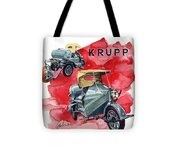 Krupp Street Sweeper Tote Bag