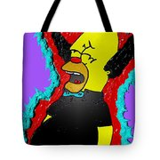 Krusty The Clown Found Dead Tote Bag