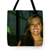 Krystal In Paris Tote Bag
