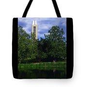 Ku Carrilon Tower Tote Bag