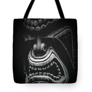 Ku Kii Tiki Hawaiian Culture Wood Carvings Demigods Tote Bag
