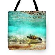 Kua Bay Honu Tote Bag