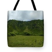 Kualoa Panorama Tote Bag