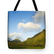Kualoa Ranch Tote Bag by Dana Edmunds - Printscapes