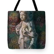 Kuan Yin Dragon Tote Bag
