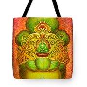 Kuan Yin's Buddha Crown Tote Bag