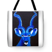 Kudu Blue Tote Bag