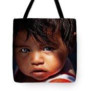 Kuna Yala Girl, Panama Tote Bag