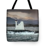 Kvitholmen Lighthouse Tote Bag