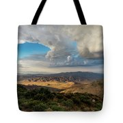 Kwaaymii Point Monsoon Tote Bag