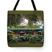 Kwon Yin Temple 5 Tote Bag