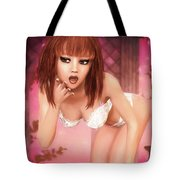 Kylie - Cute And Sassy - Fantasy Painting Tote Bag