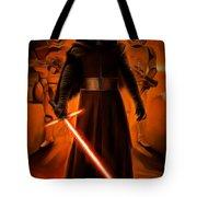 Kylo Ren In The Battlefield Tote Bag