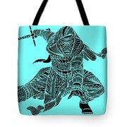 Kylo Ren - Star Wars Art - Blue Tote Bag