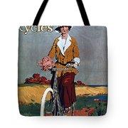 Kynoch Cycles - Bicycle - Vintage Advertising Poster Tote Bag