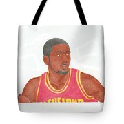Kyrie Irving Tote Bag by Toni Jaso