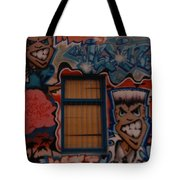 L A Urban Art Tote Bag