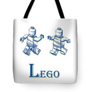 L Is For Lego Tote Bag