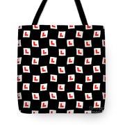 L-plate Wallpaper Tote Bag