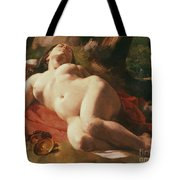 La Bacchante Tote Bag by Gustave Courbet