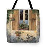 La Bici Tote Bag by Guido Borelli