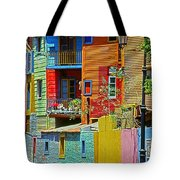 La Boca - Buenos Aires Tote Bag by Juergen Weiss