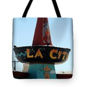 La Cita In Tucumcari On Route 66 Nm Tote Bag