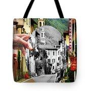La Comacina Ristorante-colonno, Ital Tote Bag